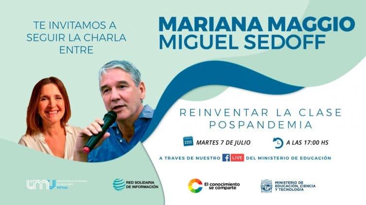 """Docentes misioneros convocados a una charla online para """"REINVENTAR LA CLASE POST PANDEMIA"""","""
